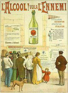 Alcoolisme-L'alcool voila l'ennemi-Wikipedia