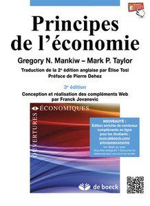 « Principes de l'économie » 2013 par Gregory MANKIW