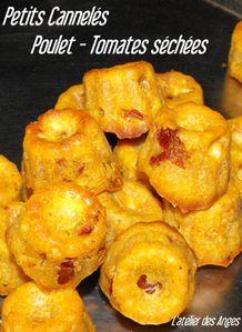 Cannelés poulet tomates 1