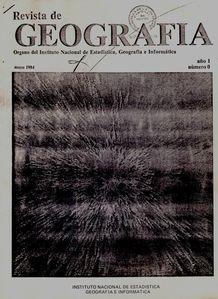 1984 Geografía, INEGI