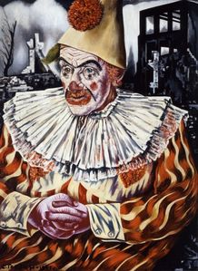 Charley Toorop - le clown