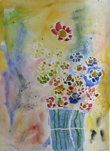bouquet aquarelle laure