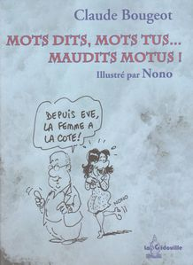 Chuchu livre Mots dits, mots tus...gidouille