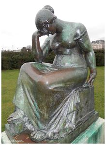 Douleur Aristide Maillol Tuileries Paris 2