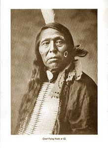 FLYING HAWK sioux Oglala