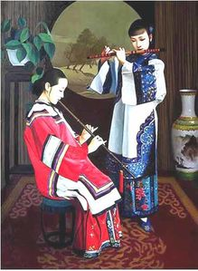 Chen-Yifei-Oil-Paintings