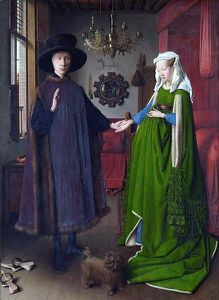 Van Eyck - Les poux Arnolfini