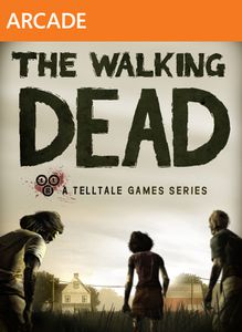 Walking dead jaquette Xbox 360