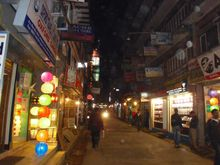 2011120834 Katmandou Thamel by night
