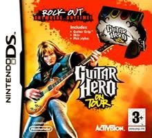 Jeux Nintendo DS Guitar Hero