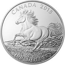 canada 2015 100 $ pour 100 $ cheval