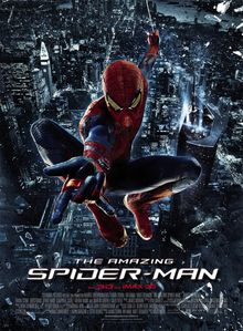 the Amazing spider-man-affiche