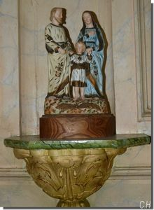 Chapelle du Coudray -2012- Saints