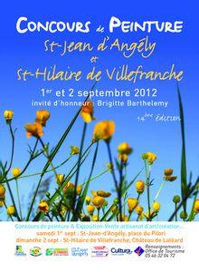 Concours de peinture le blog de carphil - Office de tourisme saint jean d angely ...