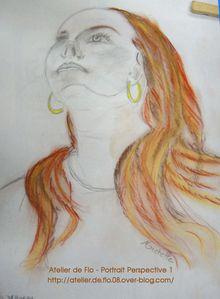 Portrait perspecrtive dessin croquis atelier de flo11