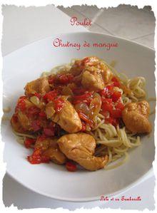 Poulet au chutney de mangue (5)