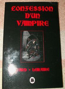Confession d'un vampire 1