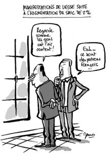 SMIC Hollande et les patrons