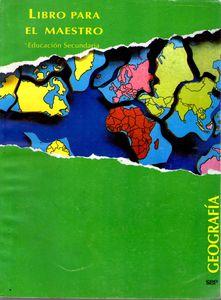 1994 El Libro para el Maestro, Geogrfía.