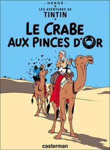 France Tintin Crabe cover