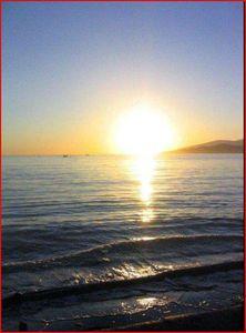 Muriel belles fins de soirées d'été au bord de la mer