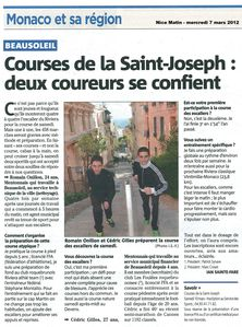 Courses St Joseph - NM 7 mars 2012