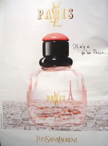 Tour Eiffel, Paris, Parfum Yves Saint-Laurent