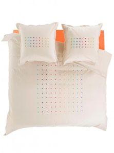 parure dots happy carré blanc