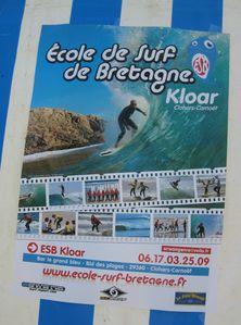 043 rr Affiche Ecole de Surf ERB