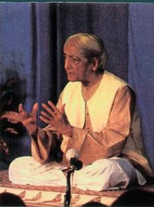 Krishnamurti Teaching