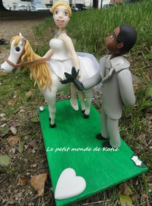Figurine-mariage-cheval
