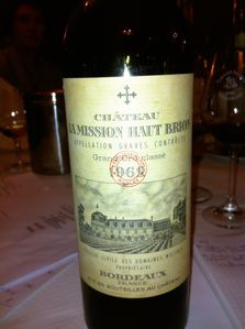 mission haut brion 1962