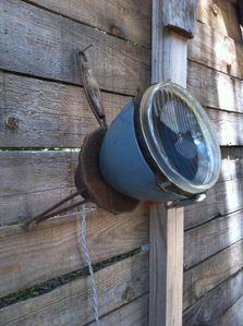 lampe, phare, applique, détournement d'objet