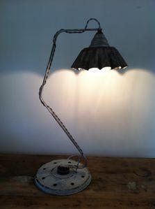 lampe, atelier bois d'âme, récup