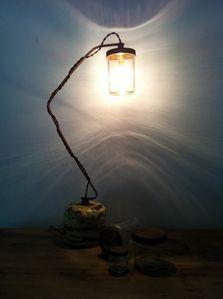 lampe, recup, detournement d'objet, recyclage