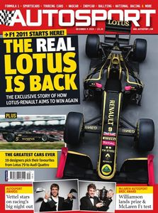 Autosport - The real Lotus is back