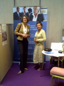 Stand AR Consultday juin 2011 I. Cordier et Ch Naud