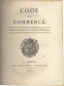 code de commerce de 1807