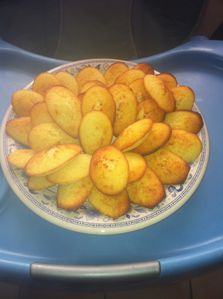 madeleines aux citrons