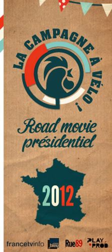 affiche road movie présidentielles