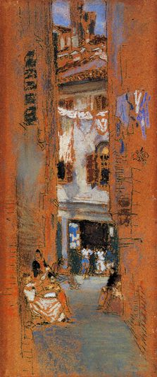 James Whistler dessins rue