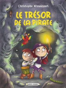 couverture le trésor de la pirate