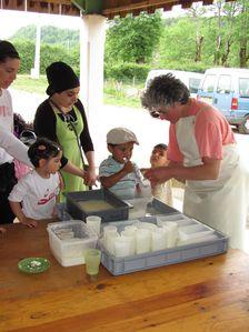atelier moulage de fromage