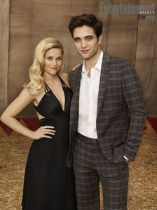Robert Pattinson + Reese Witherspoon - EW Photoshoot 1