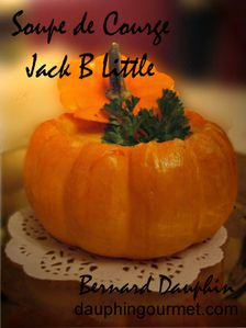 soupe courge jack be little