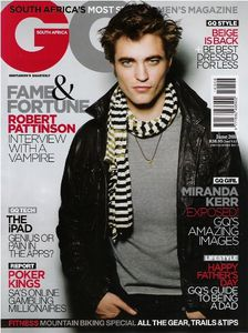 Robert-Pattinson-GQ-South-Africa-Cover- Juin 2010PHOTOS