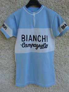 R Maillot BIANCHI Campagnolo 1975