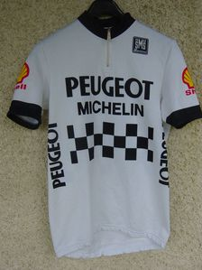 R Maillot Peugeot Shell 1984