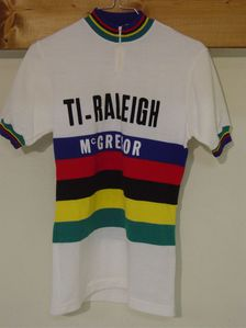 R maillot C.D.M Ti-RALEIGH 1980