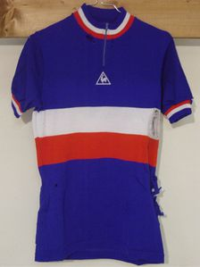 R maillot FRANCE COQ 1981